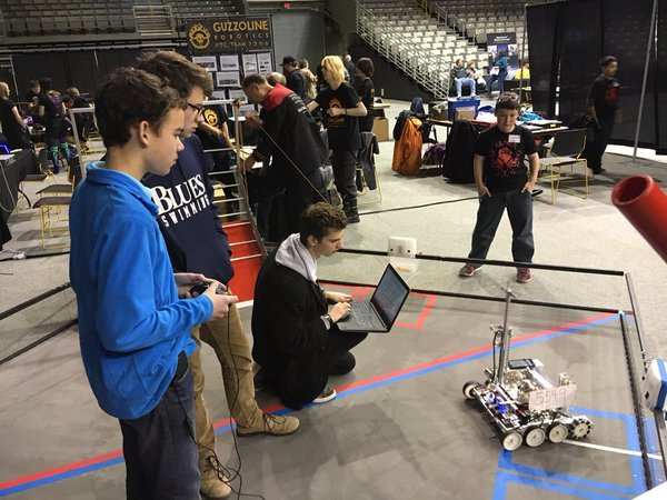 Robotics Team Qualifies for State Championships