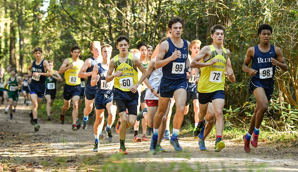 Blues See Success in Cross Country Conference Championship