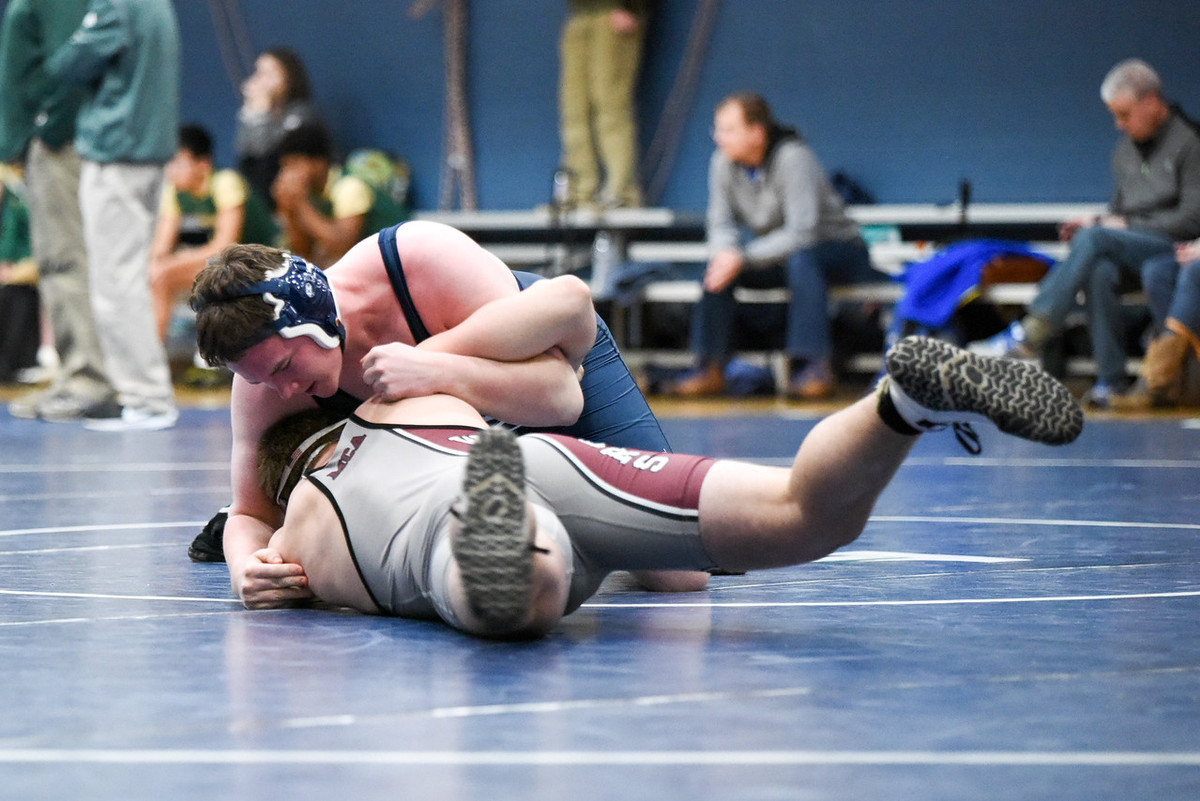 Asheville School Freshman Takes Third Place in NCISAA 3A State Wrestling Tournament