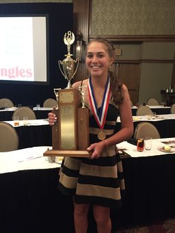 Rachel Kuehn 2019 Honored at WNC Sports Awards