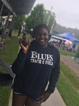 Blues Earn Podium Finishes in NCISAA 3A State Championships in Track and Field