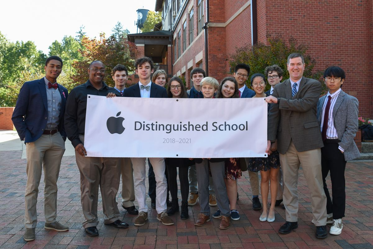 Asheville School Named Apple Distinguished School