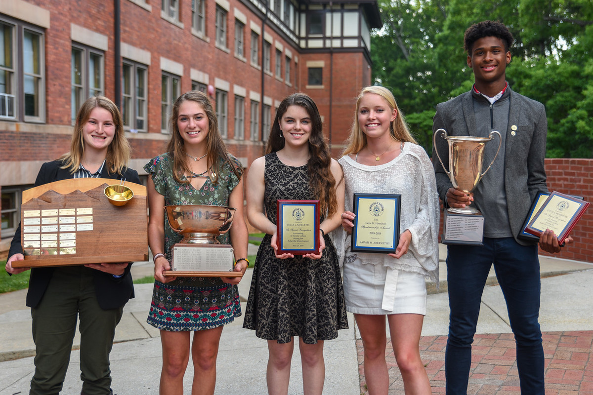 Asheville School Recognizes Outstanding Student-Athletes During 2019 Athletic Banquet