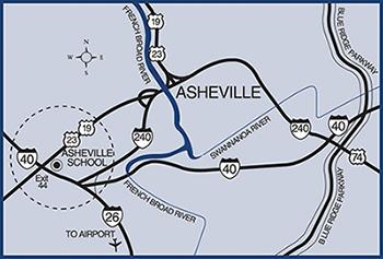 Asheville School Directions